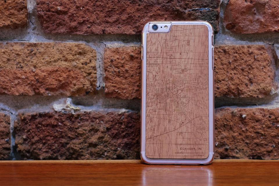 Elkhart - Slim iPhone 6s Plus Mahogany