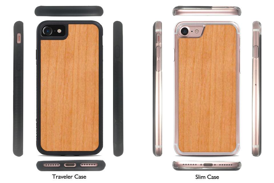 Traveler and Slim Case Profile Views