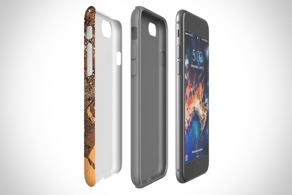 Map Cases - Tough case has dual layer protection with impact polycarbonate resistant shell and TPU liner