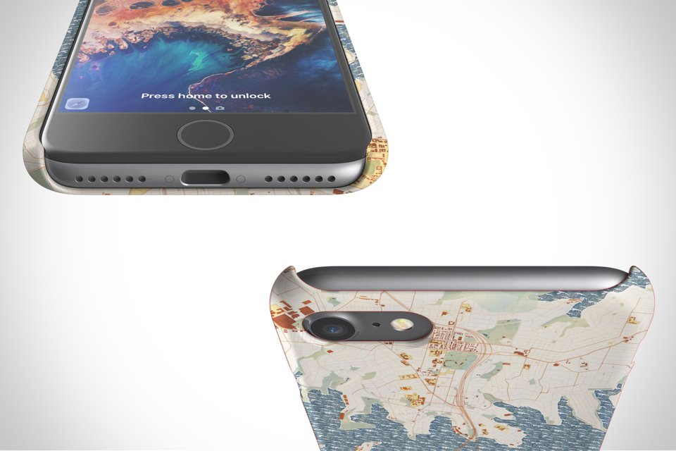 Map Cases - Snap Case is made from impact resistant polycarbonate material.
